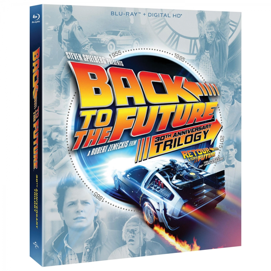 Back To The Future: 30th Anniversary Trilogy (4BR Import)