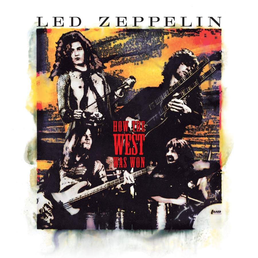 Led Zeppelin - How The West Was Won Live (4LP)