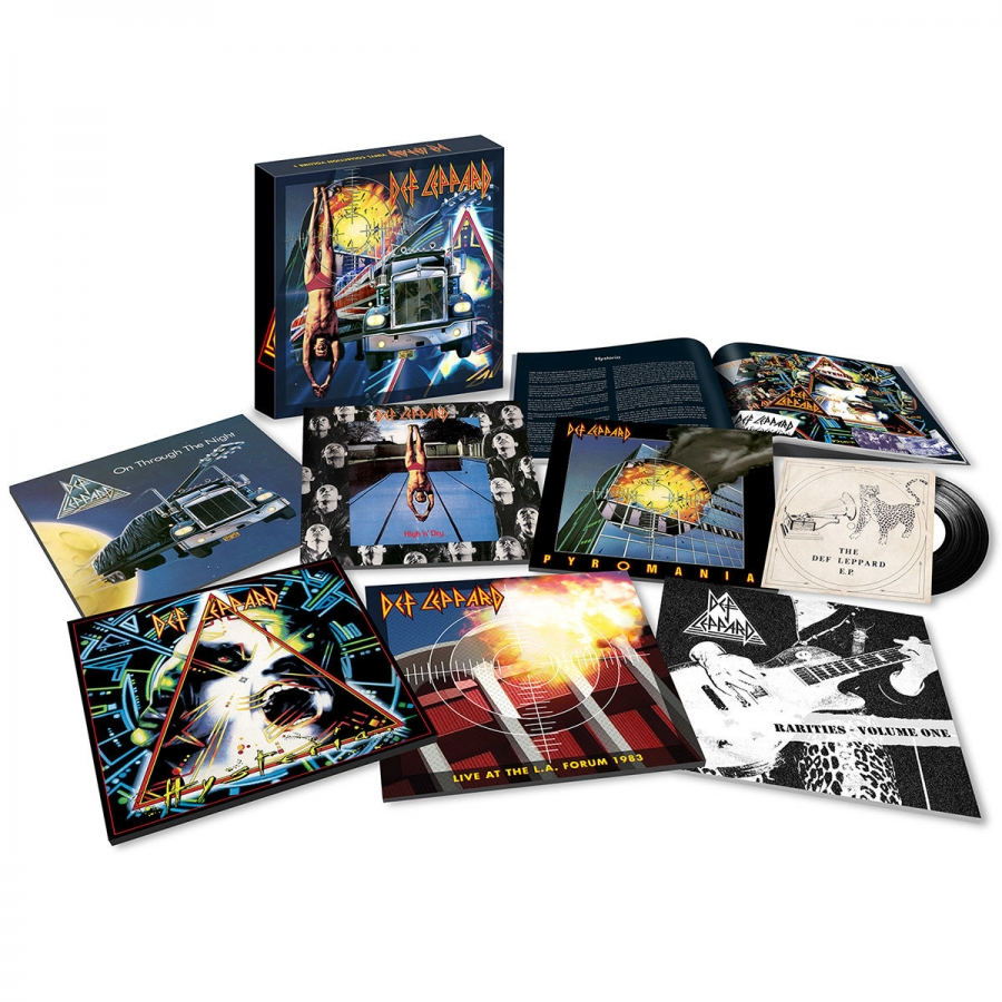 Def Leppard - The Vinyl Collection  Vol 1 (8LP + Single)