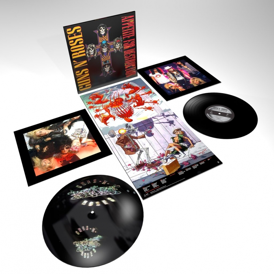 Guns N Roses - Appetite For Destruction (2LP)