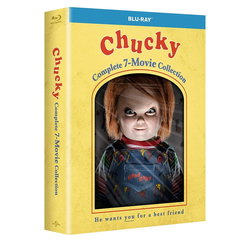 Chucky - Complete Movie Collection (7BR Import)