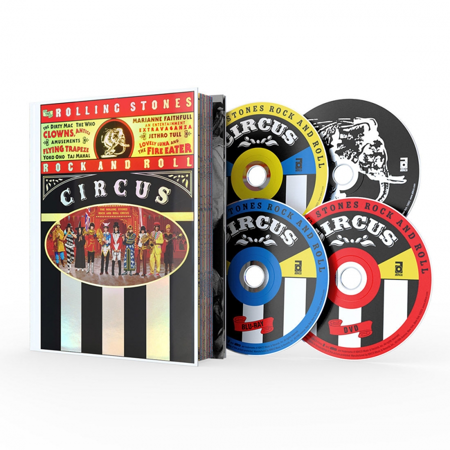 The Rolling Stones - Rock And Roll Circus (BR+DVD+2CD)