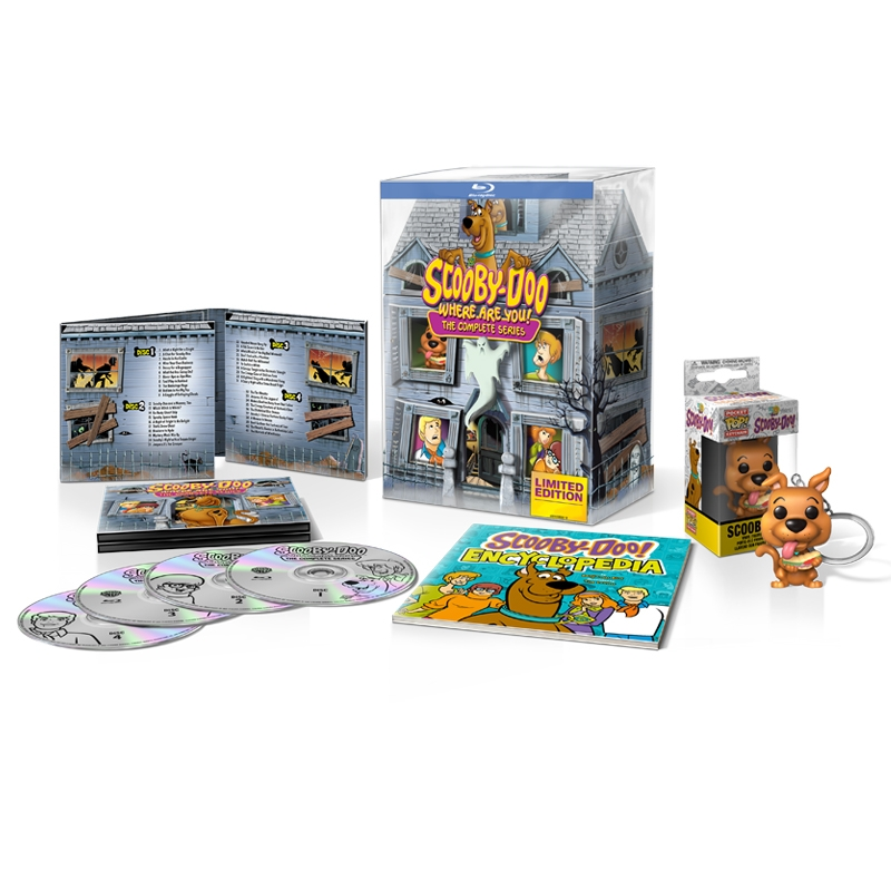 Scooby-Doo The Complete Series (4BR Import)