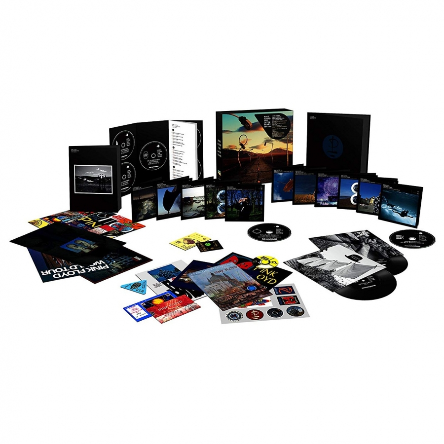 Pink Floyd - Later Years 1987-2019 (5CD + 5DVD + 6BR + 2x7