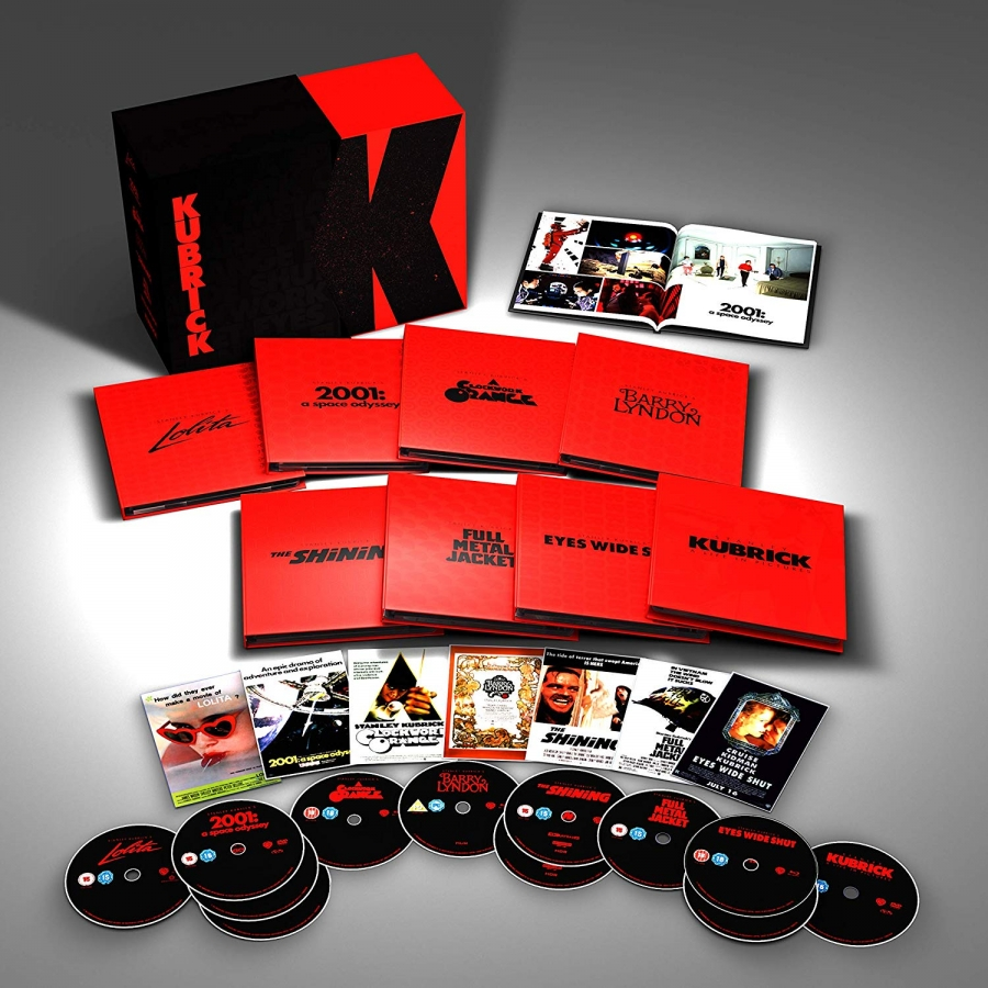 Stanley Kubrick Collection Limited Edition 4K