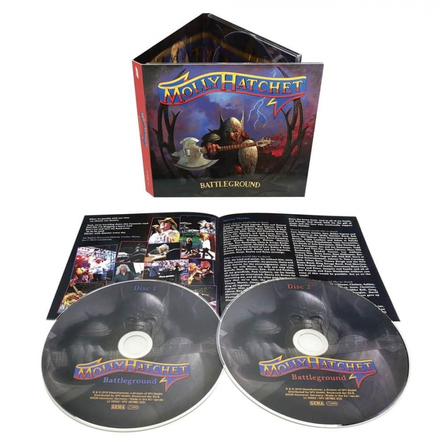 Molly Hatchet - Battleground (2CD Import)