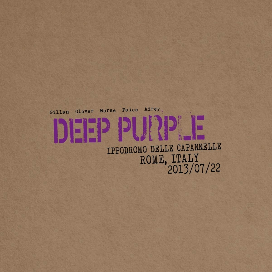 Deep Purple -  Live In Rome 2013 (2CD Import)