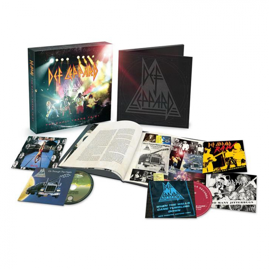 Def Leppard - The Early Years (5CD Import)