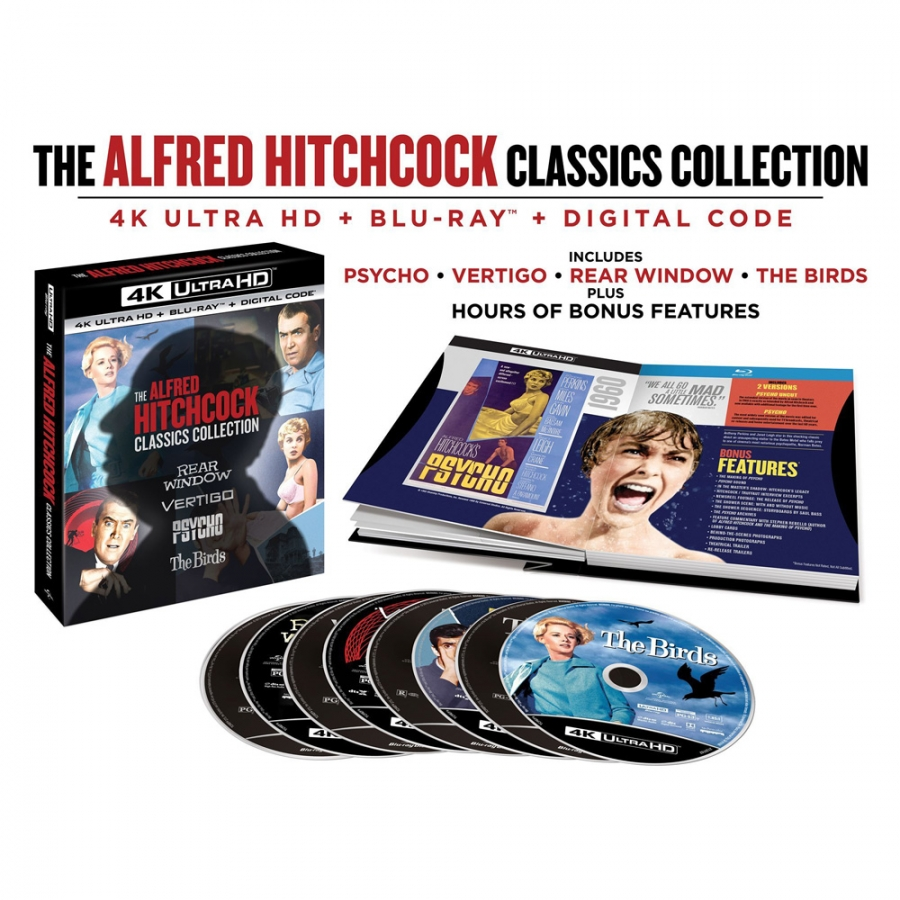 Alfred Hitchcock Classics Collection 4K (8BR Import)
