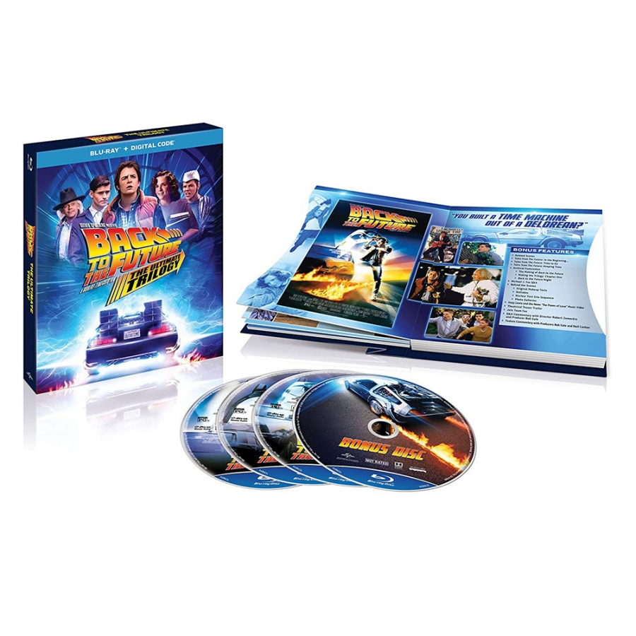 Back To The Future Ultimate Trilogy (4BR Import)