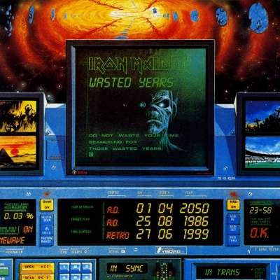 Iron Maiden - Wasted Years (Single 7