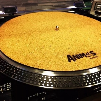 Slipmat Corcho Animals Records