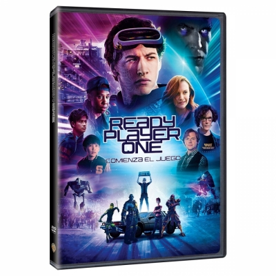 Pelicula - Ready Player One (DVD)