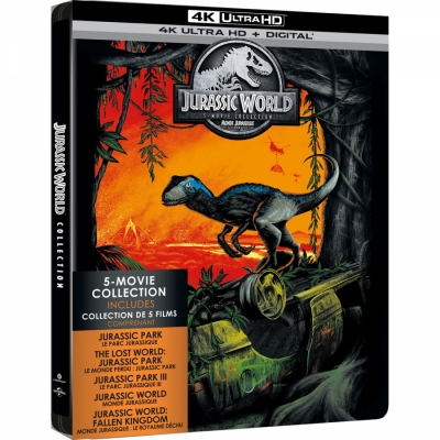 Jurassic  Park - 5 Movie Collection 4K (5 BR Import)