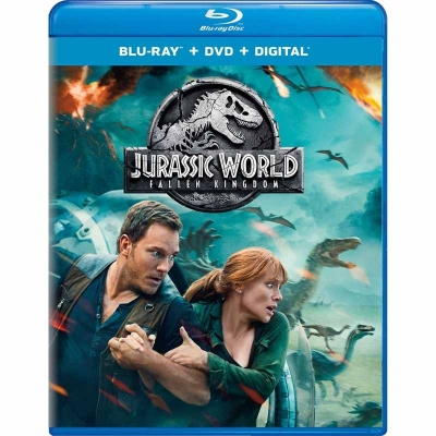 Jurassic World - Fallen Kingdom (BR+DVD Import)