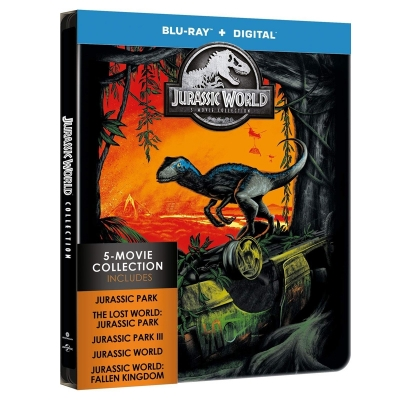 Jurassic Park - 5 Movie Collection  (5 BR Import)