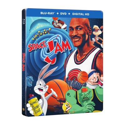 Space Jam 20th Steelbook (BR+DVD Import)