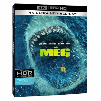 Megalodon - The Meg (4K + BR Import)