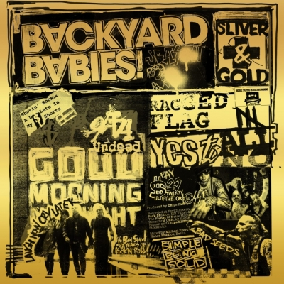 Backyard Babies - Sliver & Gold (LP Color + CD)