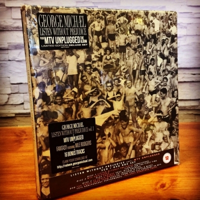 George Michael - Listen Without Prejudice (3CD + DVD Import)