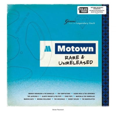 Motown Rare & Unreleased (LP Color)