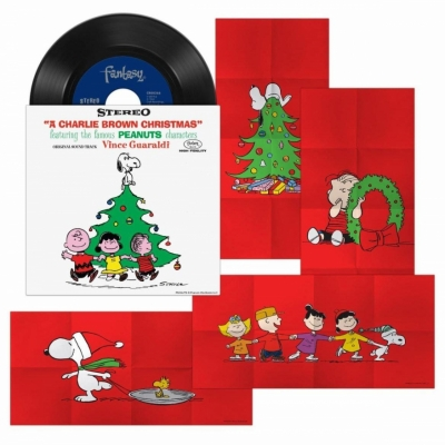A Charlie Brown Christmas - 4 Singles 3
