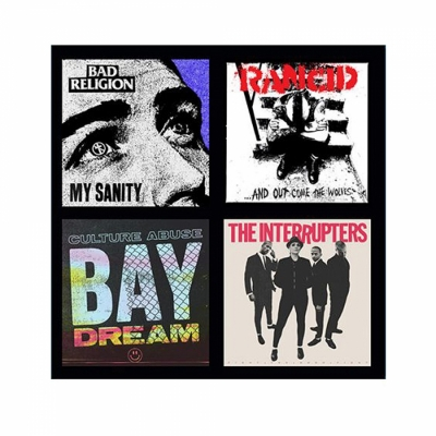 Epitaph Records Punk - 4 Singles 3