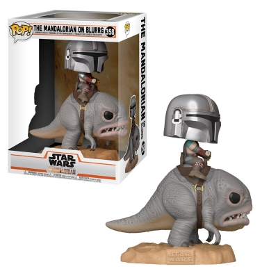 Funko -  Star Wars - The Mandalorian On Blurrg