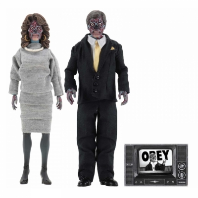 Neca - They Live - Alien 2 Clothed Figures (Pack)