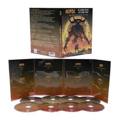 AC/DC - A Long Way To The Top (6CD + 2DVD Import)